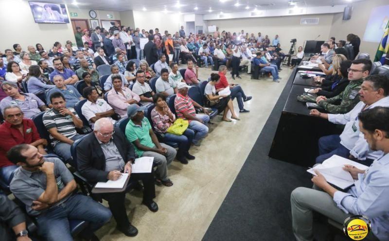 Audiência Pública reuniu pescadores profissionais, amadores, esportistas, comerciantes e empresários do turismo.