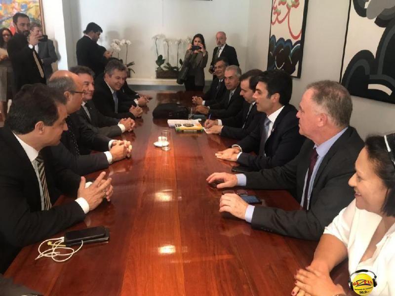 Mauro Mendes participou do IV Fórum de Governadores nesta terça-feira (23)